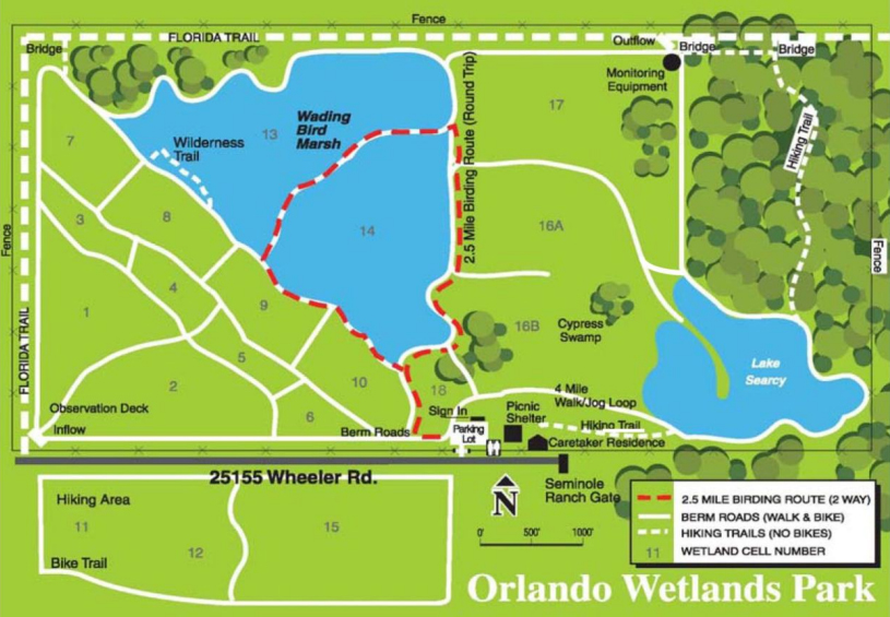 Orlando Wetlands Park – Lonely Birder on wetlands in florida on map, appalachian mountains on world map, wetlands on world map,