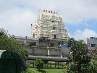 ISKCON temple (Hare Krishna).