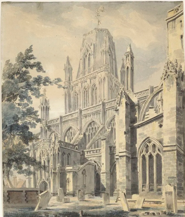 South_Porch_of_St_Mary_Redcliffe_Church,_Bristol_c.1791-2