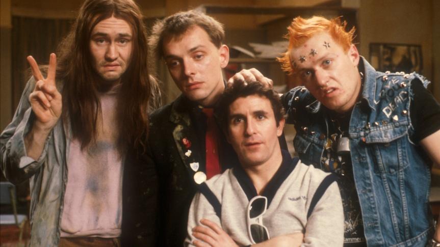 Cast photo of The Young Ones.